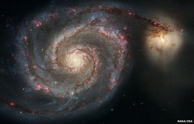 Ilustración representando el universo.