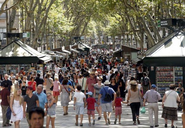 La Rambla Caddesi (Arşiv)