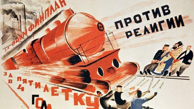 Propaganda soviética de los años 30