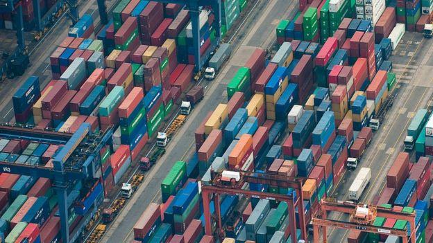 Контейнерный порт Гонконга