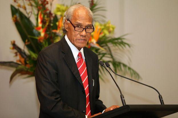 汤加首相阿基利西·波希瓦(Akilisi Pohiva)今年8月曾呼吁南太平洋岛国领导人协调声音,要求中国减免债务。