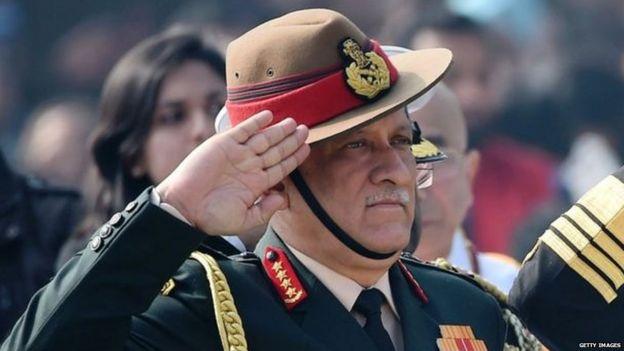 भारतीय थल सेना प्रमुख जनरल बिपिन रावत