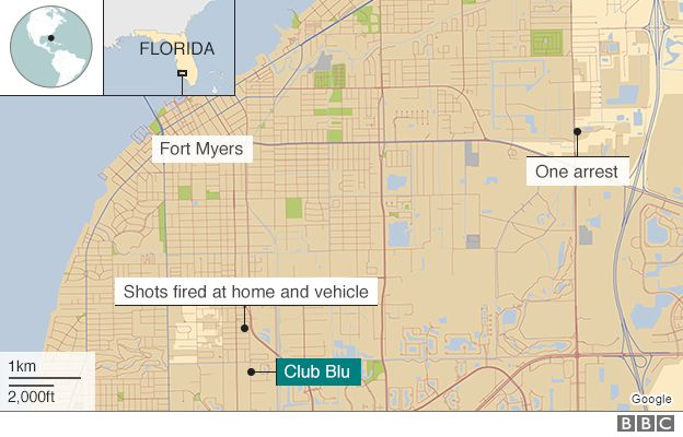 Map of Ft. Myers