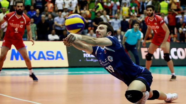 Parisa Pourtaherian has photographed a number of sports including volleyball
