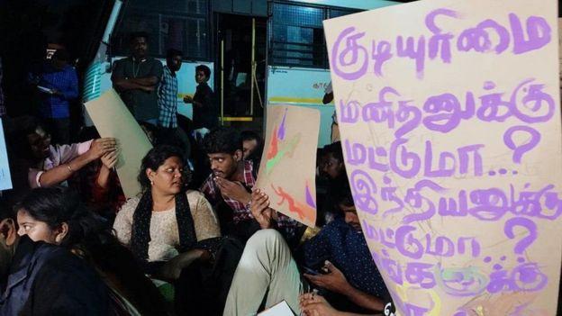 குடியுரிமை திருத்த சட்டம்: சென்னை பல்கலைக்கழகத்தில் வலுக்கும் போராட்டம்