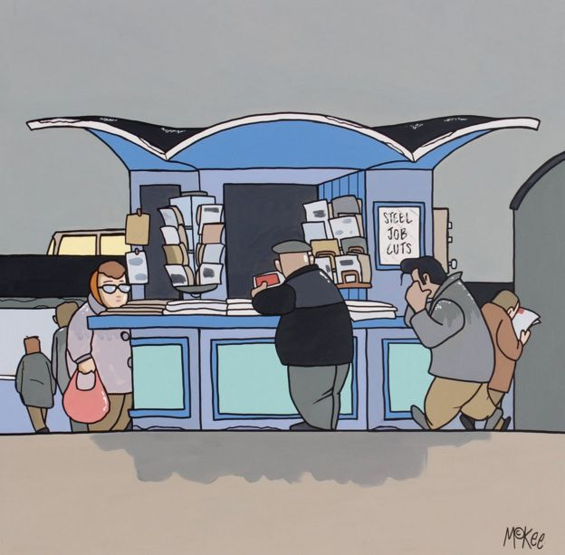 Threpeny Bit Opera by Pete McKee
