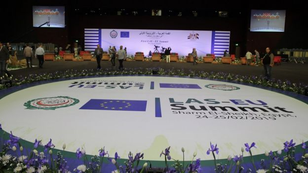 EU Arab League Summit in Sharm el-Sheikh