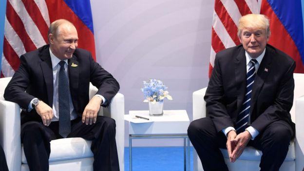 Presidente de EE.UU. y de Rusia