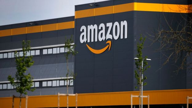 Amazon centre in France