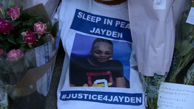 Tributes for Jaden