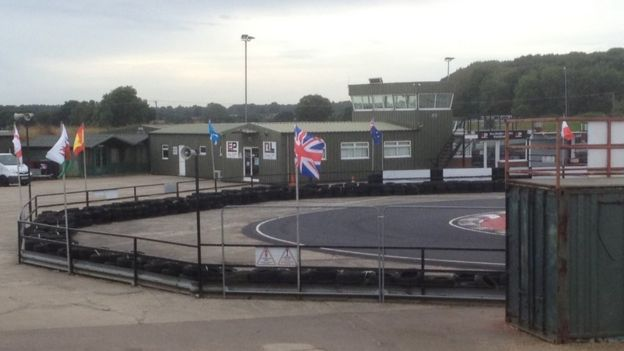 Beccles go-kart crash victim 'thrown on to track' - BBC News