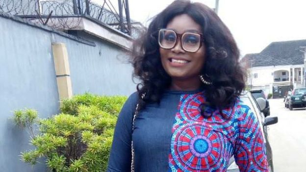 Helen na pesin wey be radio presenter for Port Harcourt