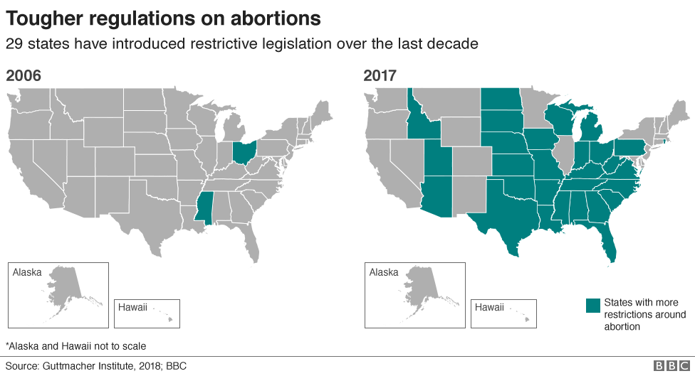Abortion Rates By State Map.If Roe V Wade Is Overturned Will Abortion Become Illegal In The Us