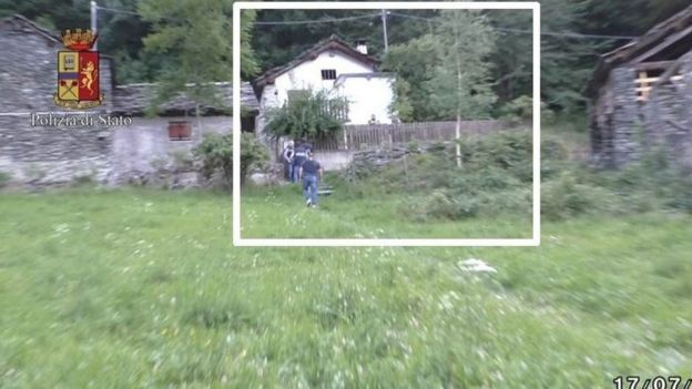 Photo of the house where the woman was held captive