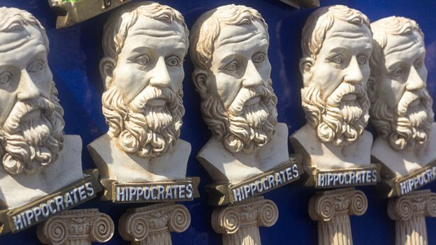 Estatuillas de Hipócrates