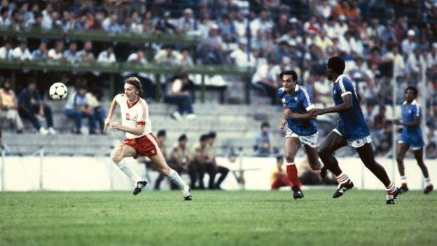 Partido Polonia y Francia 1982