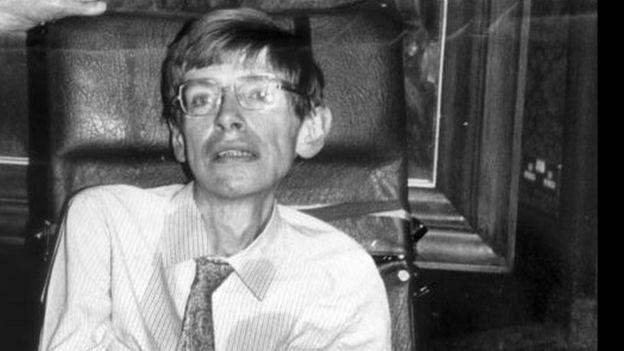 Stephen Hawking.
