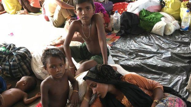 Myanmar'dan kaçıp Bangladeş'e giden Arakan Müslümanlarının büyük yarısından çoüu çocuk yaşta.