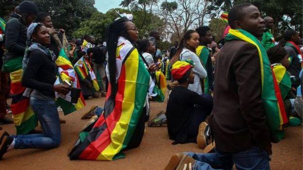 Mudaaharaadayaasha #ThisFlag oo curyaamiyey hawlihii caasimadda Harare sannadkii hore