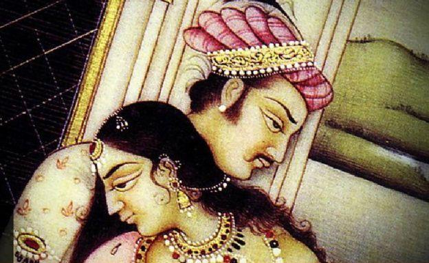 Imagen del Kama Sutra.