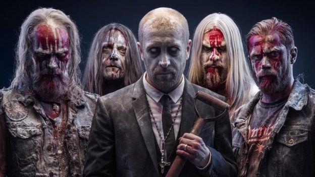 Swedish death metal band: Bloodbath