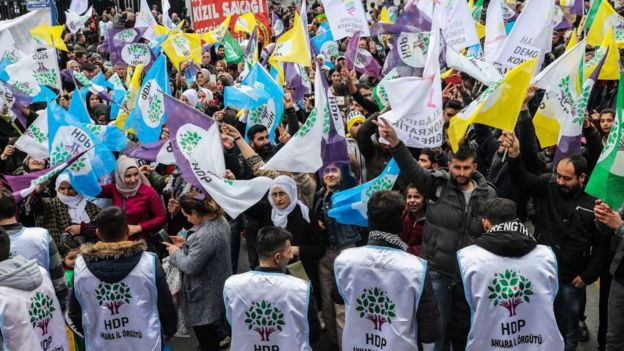 HDP miting