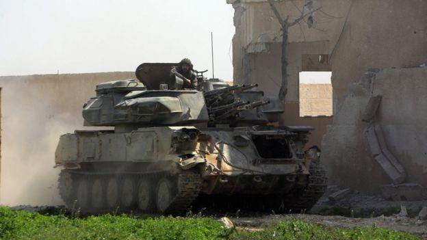 نیروهای نزدیک به اسد در روزهای اخیر با سرعت در این ناحیه پیشروی کرده اند