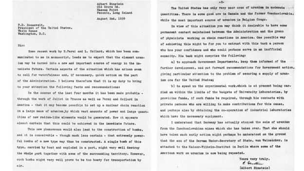 Carta Einstein-Szilard