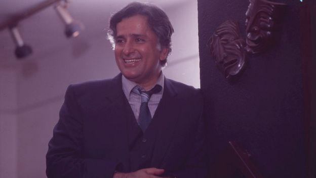 Shashi Kapoor smiling
