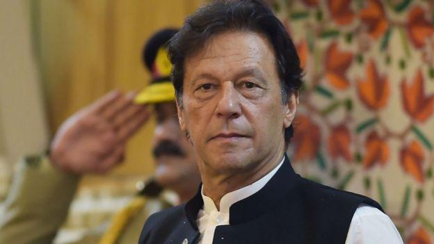 پاکستان کے وزیر اعظم عمران خان