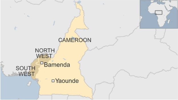 Why has Cameroon blocked the internet? - BBC News