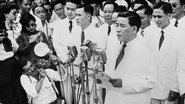 Ông Ngô Đình Diệm, tổng thống đầu tiên của Việt Nam Cộng hòa