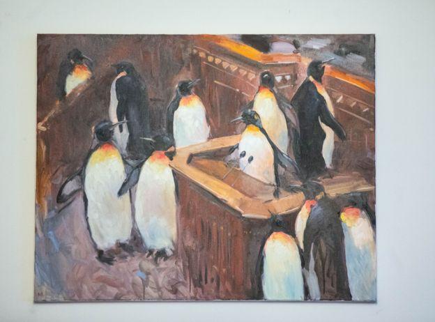 Пінгвіни у Верховній Раді