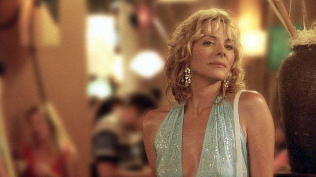 """El personaje de Samantha (interpretado por la actriz Kim Cattrall) en """"Sex & The City"""""""