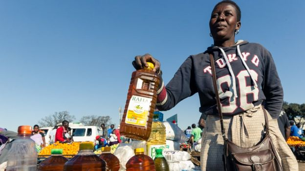 Harare, Zimbabwe - where the price of goods has increased