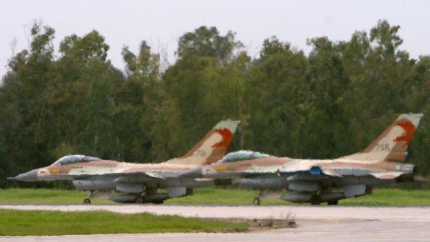 İsrail savaş uçakları