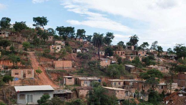 Área da ocupação Izidora