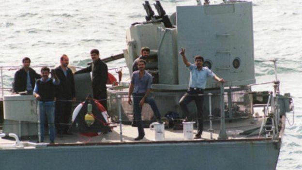 ملوانان نیروی دریایی ایران