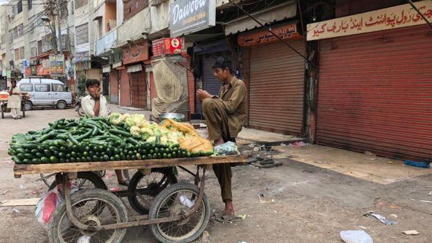 کراچی لاک ڈاؤن
