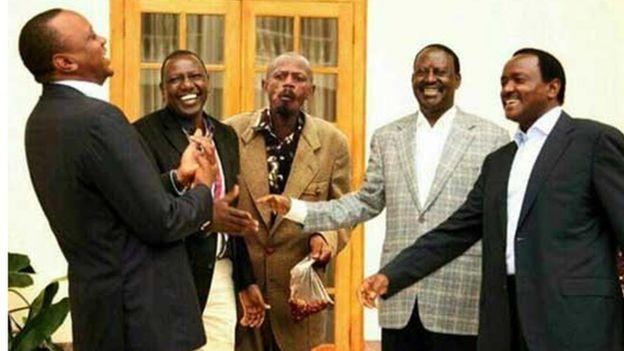 Sawirkiisa ayaa lagu dhajiyey sawirka hoggaamiyeyaasha Kenya