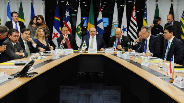 V Fórum dos Governadores, realizado em 11 de junho de 2019