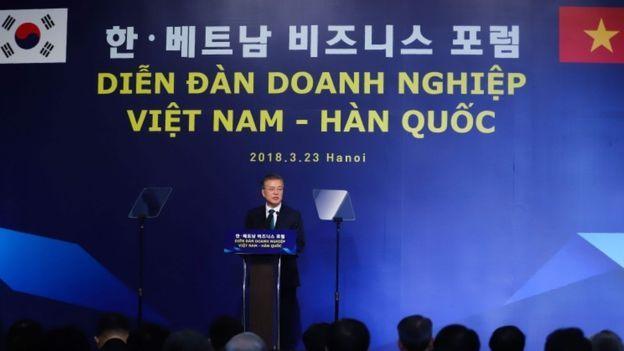 Hàn Quốc là một trong các đối tác mậu dịch và đầu tư lớn với Việt Nam.