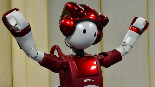 Emiew robot