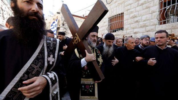 ईसाई यरूशलम में