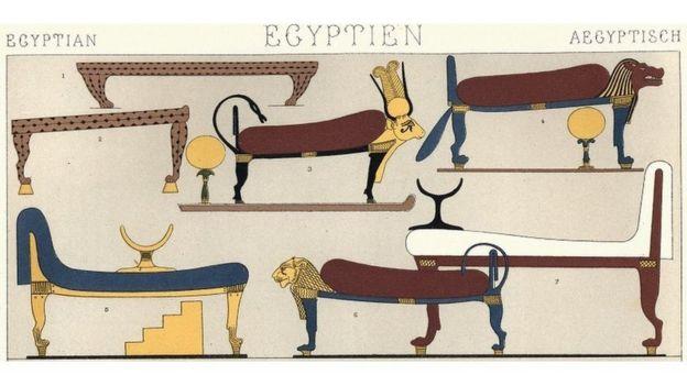 أسرّة مصرية قديمة