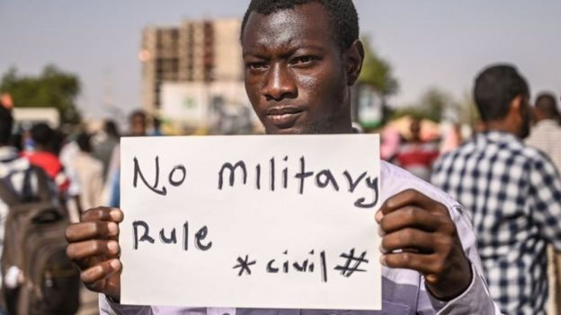 In Sudan there have been protests against a military regime following the deposition of Al Bashir.