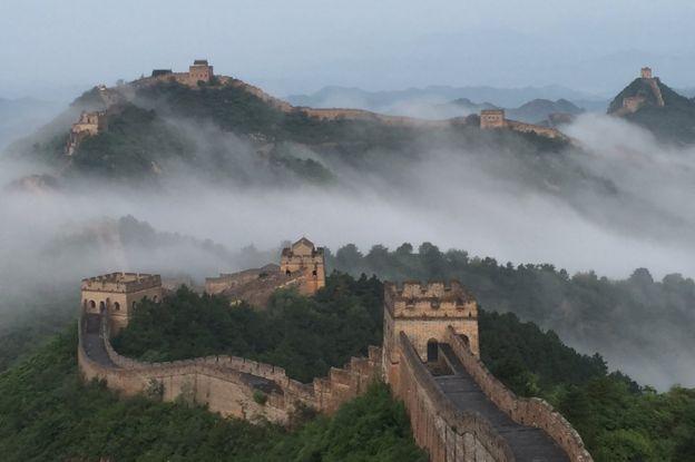 La gran muralla de China