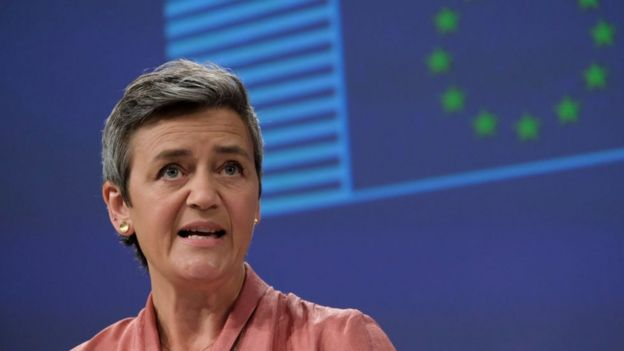 EU Competition Commissioner, Margrethe Vestager