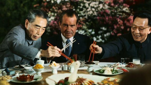 Chu Ân Lai và Richard Nixon