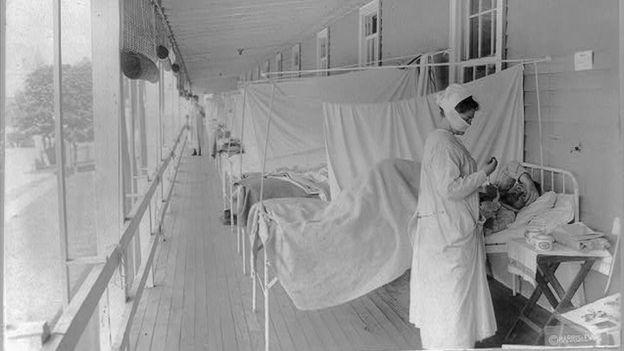 Ala do hospital militar Walter Reed, em Washington